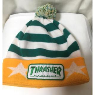 スラッシャー(THRASHER)のTHRASHER未使用ニット帽(ニット帽/ビーニー)