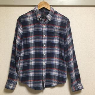 Abercrombie&Fitch - アバクロ ガーゼ生地のチェックシャツ
