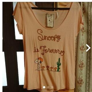 ココディール(COCO DEAL)のココディール スヌーピーTシャツ(Tシャツ(半袖/袖なし))