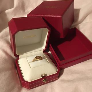 カルティエ(Cartier)のCartier cハート リング(リング(指輪))