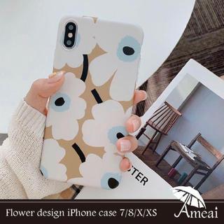 iPhone - iPhone X XS ケース 花柄