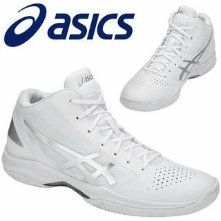 アシックス(asics)の新品 22.5cm ASICS 男女兼用 バッシュ  ゲルフープV10スリム(バスケットボール)