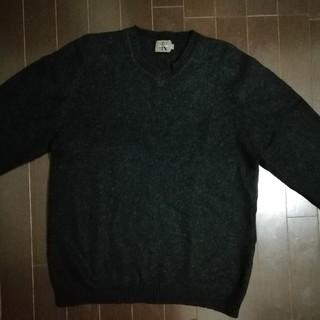カルバンクライン(Calvin Klein)のCKセーター ブラック(ニット/セーター)