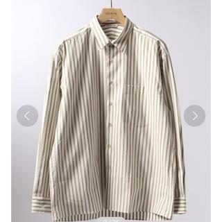 コモリ(COMOLI)のAURALEE Washed Finx Twill Stripe Shirts(シャツ)