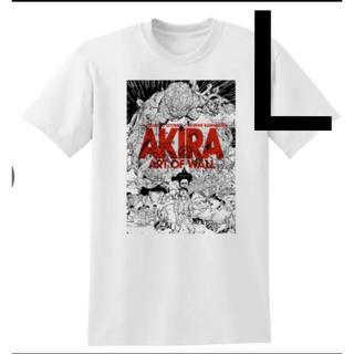 Akira 渋谷パルコ tee 白 Lサイズ AKIRA Tシャツ