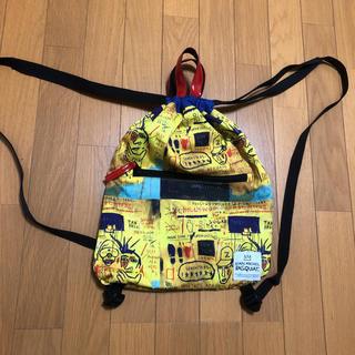 ローズバッド(ROSE BUD)のリュック バスキア ナップサック ART 芸術 トートバック(リュック/バックパック)
