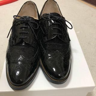ランバンオンブルー(LANVIN en Bleu)のランバン オン ブルー  24.5  ウイングチップレースアップシューズ(ローファー/革靴)