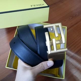 FENDI - 正規品 フェンディFENDI ベルト 本革 メンズ 120CM 刻印