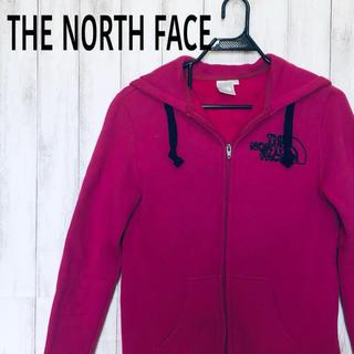 ザノースフェイス(THE NORTH FACE)のTHE NORTH FACE フルジップ パーカー ロゴ レディース(パーカー)