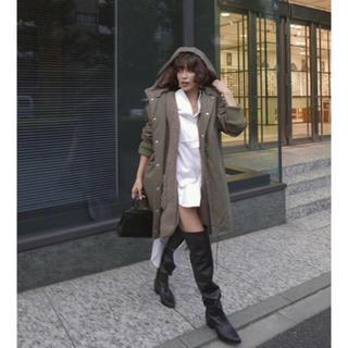 TODAYFUL - ETRE TOKYO エトレ 新作 完売 ミリタリーライナーボアコート アウター