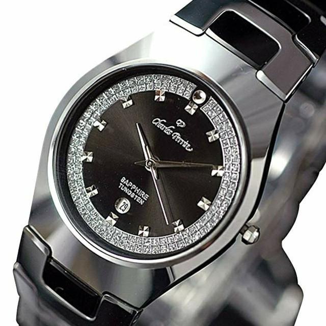 シャルルペリン腕時計  ブラックの通販