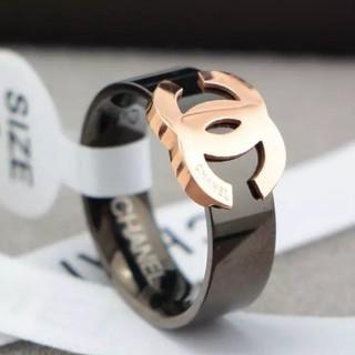 CHANEL - C リング rose gold