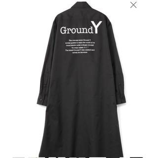 Yohji Yamamoto - ground Y ロゴ入り ロングシャツ
