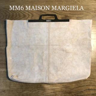 エムエムシックス(MM6)のMM6メゾンマルジェラ トートバッグ/ハンドバッグ【訳あり新品】(トートバッグ)