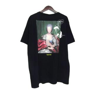OFF-WHITE - オフホワイト■ 19AWマリアナ デ シルバ バック プリント Tシャツ