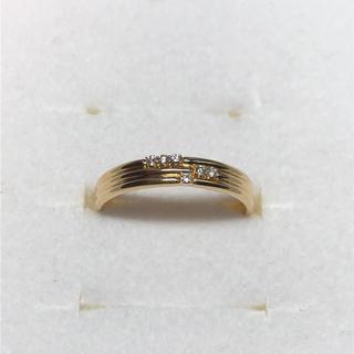 コロコロ様専用☆オレフィーチェ K18YG ダイヤモンドリング 10号(リング(指輪))