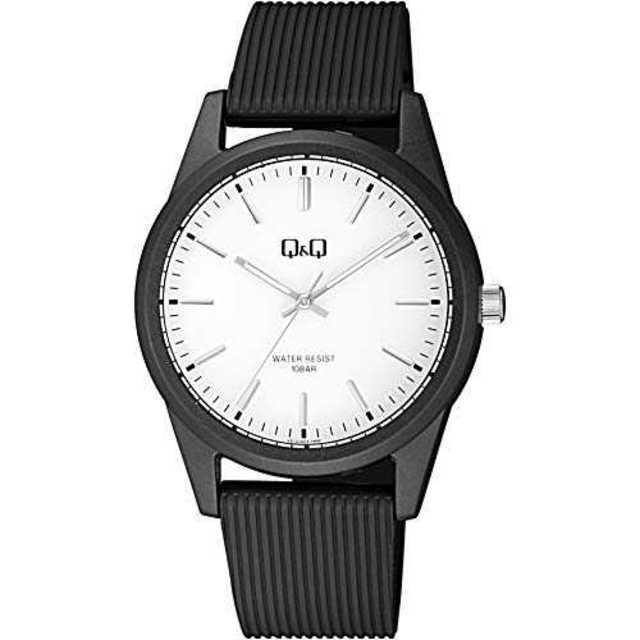 ホワイトB[シチズン Q&Q] 腕時計 アナログ VS12J003 メンズ ブラの通販