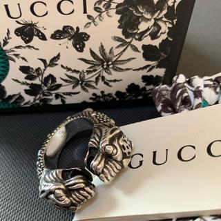 Gucci - グッチ タイガーヘッド リング 19号 2019年 定価66,000円 美品