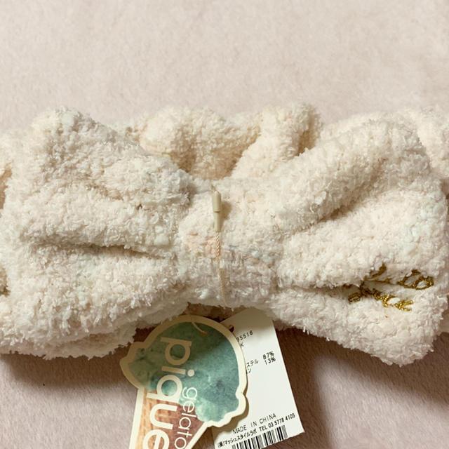 gelato pique(ジェラートピケ)のジェラートピケ♡ヘアバンド レディースのヘアアクセサリー(ヘアバンド)の商品写真