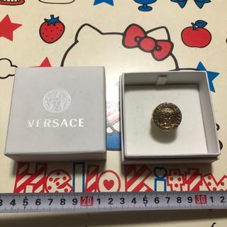 ヴェルサーチ(VERSACE)のヴェルサーチ made in ITALY 18号 ゴールドカラー ダイヤリング(リング(指輪))