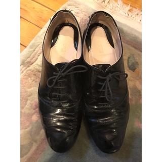 マリーファム(Marie femme)のエナメルマニッシュ靴(ローファー/革靴)