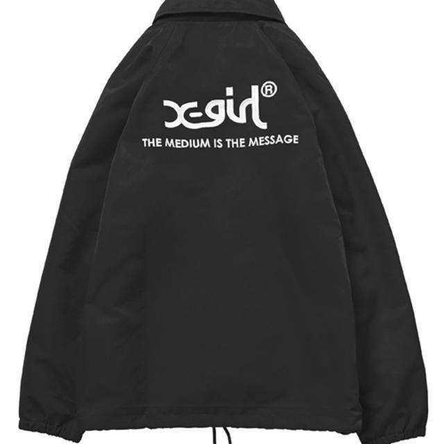 X-girl(エックスガール)のX-girl コーチジャケット レディースのジャケット/アウター(ナイロンジャケット)の商品写真