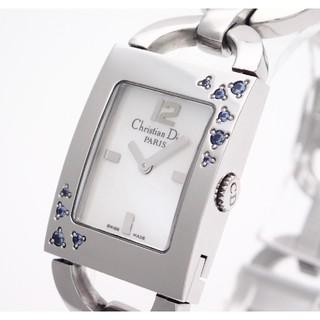 クリスチャンディオール(Christian Dior)の【ChristianDror】ディオール 'マリス' ☆ホワイトシェル☆(腕時計)