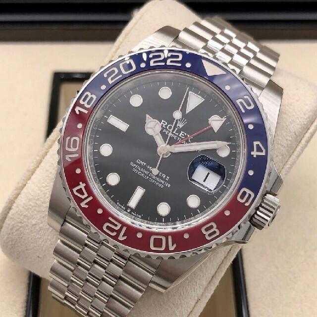PATEK PHILIPPE - 1996年 青赤ベゼル 腕時計16700 GMTマスター T番 SS の通販