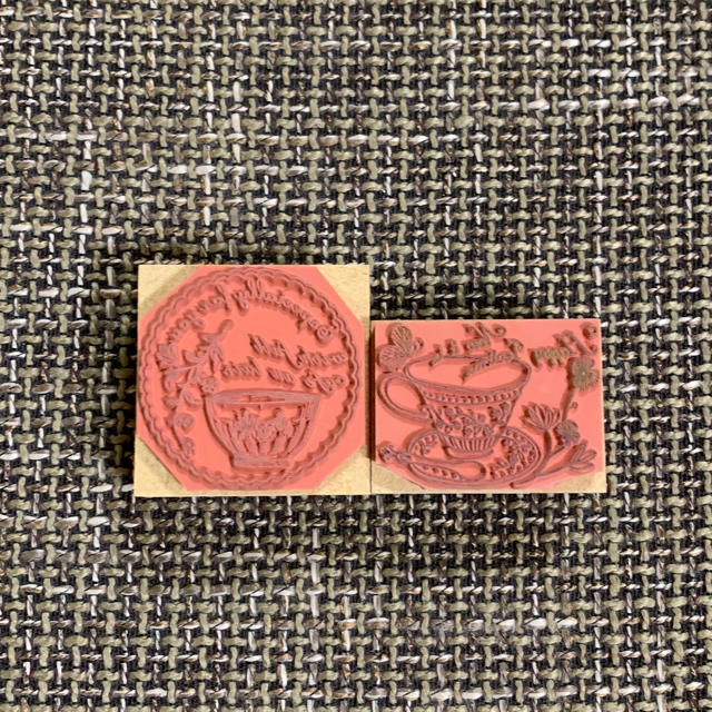東京アンティーク スタンプ  ハンドメイドの文具/ステーショナリー(はんこ)の商品写真