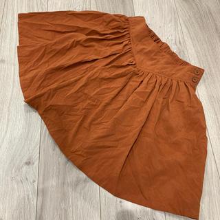 ローズバッド(ROSE BUD)のローズバッド スカート オレンジ フリーサイズ(ミニスカート)