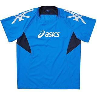 アシックス(asics)の【O】半袖ピステ ウォームアップシャツHS(XWW01l 4490/O)(バレーボール)