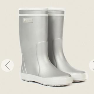 エーグル(AIGLE)のAIGLEレインブーツキッズ18.5(長靴/レインシューズ)
