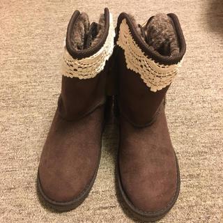 axes femme - 23.24日限定値下げ! ブーツ Mサイズ ブラウン