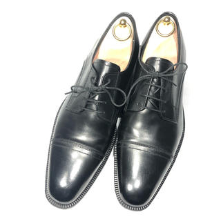 ホーキンス(HAWKINS)の大人気 Hawkins ホーキンス  ストレート 黒 ビジネス 26.5 革靴(ドレス/ビジネス)