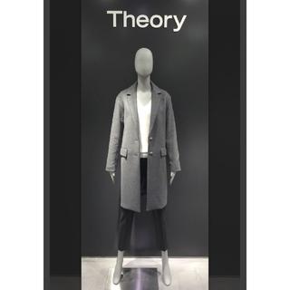 セオリー(theory)のtheory カシミヤチェスターコート  S(チェスターコート)