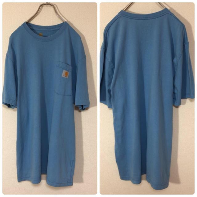 carhartt(カーハート)のカーハート Tシャツ ポケット 半袖 古着 メンズのトップス(Tシャツ/カットソー(半袖/袖なし))の商品写真