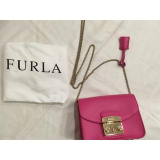 フルラ(Furla)の★FURLA メトロポリス ピンク★(ショルダーバッグ)