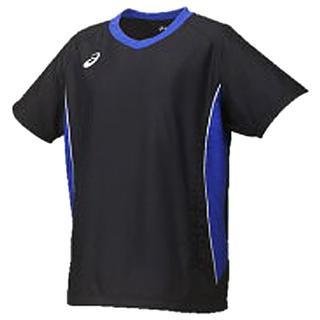 アシックス(asics)の【O】W's 半袖ピステ ウォームアップシャツHS(XWW710 9044/O)(バレーボール)