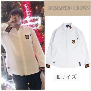 ボウダンショウネンダン(防弾少年団(BTS))のromanticcrown BTS テテ着用  shirt Lサイズ(シャツ)