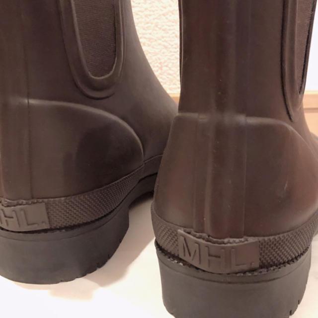 MARGARET HOWELL(マーガレットハウエル)のMHL. ショートブーツ 美品 レディースの靴/シューズ(ブーツ)の商品写真