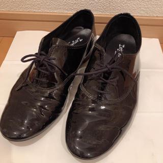 レペット(repetto)のrepetto  黒 エナメルシューズ(ローファー/革靴)