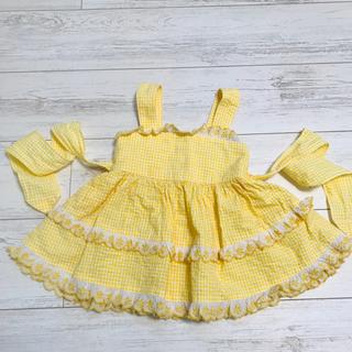 Shirley Temple - シャーリーテンプル!ジャンパースカート90サイズ
