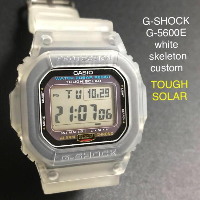 【ほほ新品】CASIO G-SHOCK G-5600E TOUGHSOLAR の通販