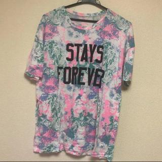 ウィゴー(WEGO)のタイダイ柄 Tシャツ BIGシャツ(Tシャツ(半袖/袖なし))