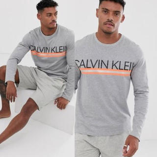 Calvin Klein - 【限定✩レア】カルバンクライン ロゴロングスリーブTシャツ