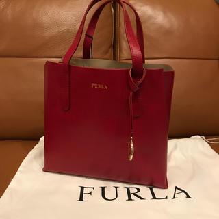 フルラ(Furla)の新品★FURLA赤★フルラ トートバッグサリー レッド(ハンドバッグ)