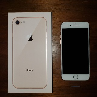 iPhone - 【 SIMフリー 】 iPhone8 64GB ゴールド