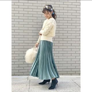 IENA - アコーディオンプリーツスカート