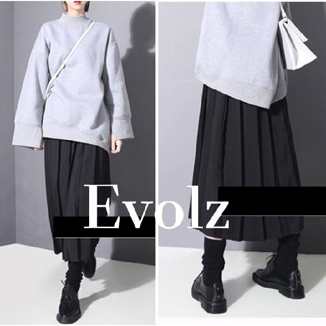 IENA(イエナ)の大人気 太プリーツ シンプル ロングスカート レディースのスカート(ロングスカート)の商品写真