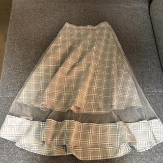 ティティアンドコー(titty&co)のロングレーススカート(ロングスカート)